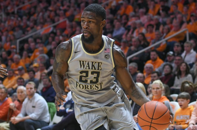 Michigan Wolverines basketball senior guard Chaundee Brown scored in double figures 13 times last season for Wake Forest.