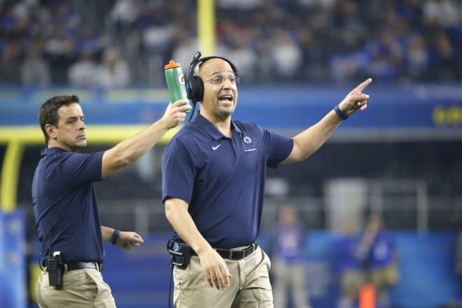Penn State's James Franklin spoke with candor about the Big Ten's lack of effective communication this month.