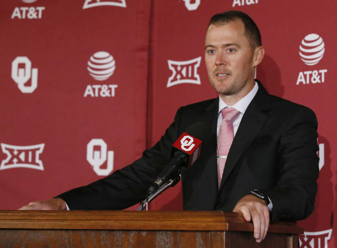 New Oklahoma head coach Lincoln Riley