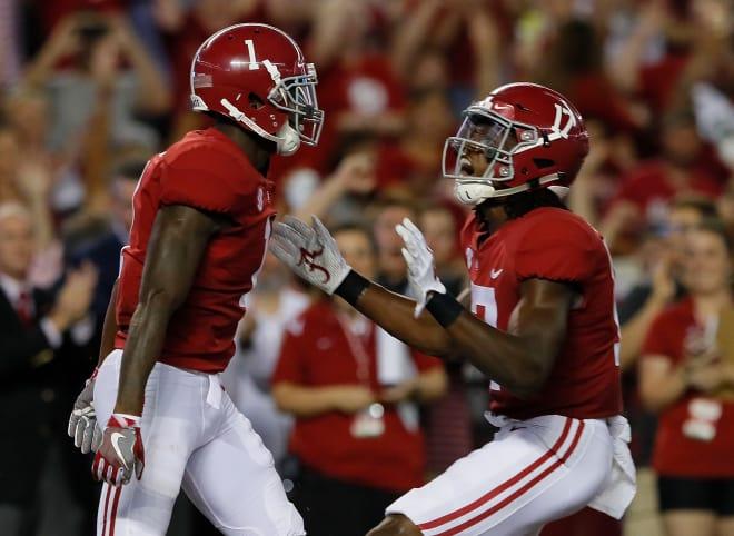 Cam Sims Alabama Crimson Tide Football Jersey-Red