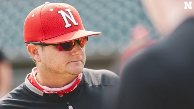 Husker head baseball coach Will Bolt