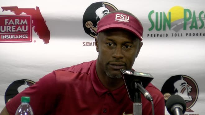 Willie Taggart admitted the negativity surrounding program hurt on the recruiting trail.