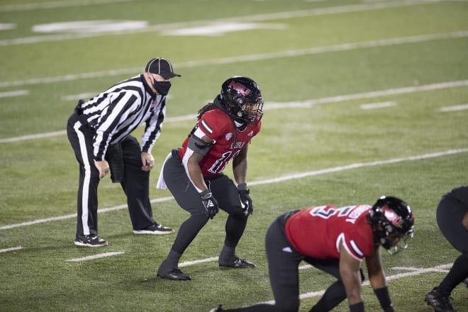 Northern Illinois Huskies football sixth-year senior linebacker Kyle Pugh's 36 tackles were tied for the second most on the squad in 2020.