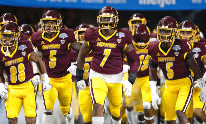 Central Michigan will play at Notre Dame on Sept. 16, 2023.