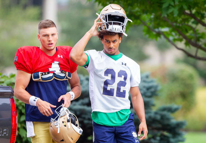 Notre Dame Fighting Irish Football Adds Two Sophomores To Running Back Corps