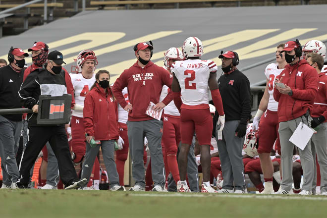 Scott Frost and his football team hope to build off their win at Purdue on Saturday.