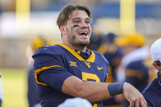 The West Virginia Mountaineers offense used Doege exclusively at quarterback.