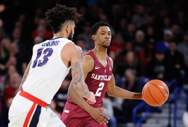 Tahj Eaddy started 45 games over the last two seasons for Santa Clara.
