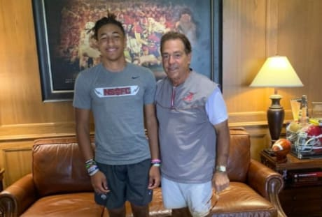 Peyton Woodyard earned an offer from Alabama on Monday.