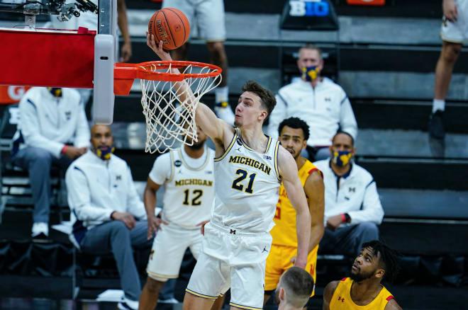 Michigan Wolverines basketball's Franz Wagner
