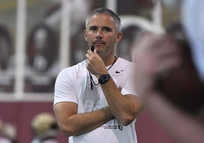 Mike Norvell will have to get creative to free up some downfield looks on offense.