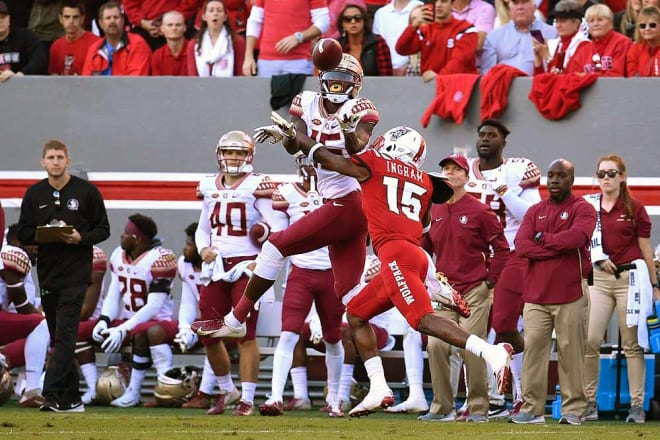 Florida State leads the all-time series against NC State 26-12.