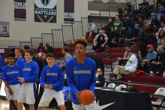 Shareef O'Neal showed promise for Los Angeles (Calif.) Windward.