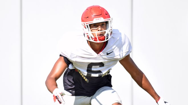 Jalen Kimber is one of several young Bulldog cornerbacks that will need to step up this fall.