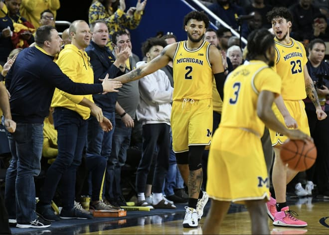 Michigan Wolverines basketball senior forward Isaiah Lives missed 10 games with injuries last season.