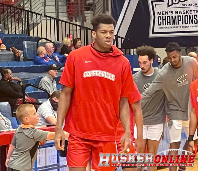 2022 NU commit Blaise Keita posted a double-double to help Coffeyville (Kan.) C.C. advance to the national championship.
