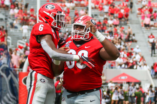 Jamaree Salyer is expected to be the starter at left tackle.