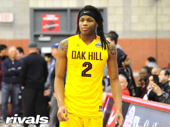 Four-star Christian Brown is visiting Oklahoma State this weekend.