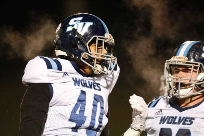 Page has committed to the West Virginia Mountaineers football program.