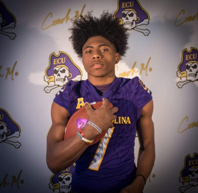 Southern Alamance product Jsi Hatfield has made a verbal commitment to East Carolina.