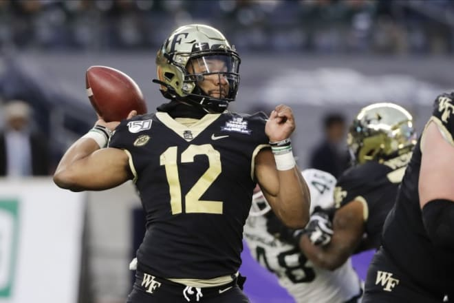 Despite the addition of JT Daniel, Jamie Newman is still expected to be the man at QB.