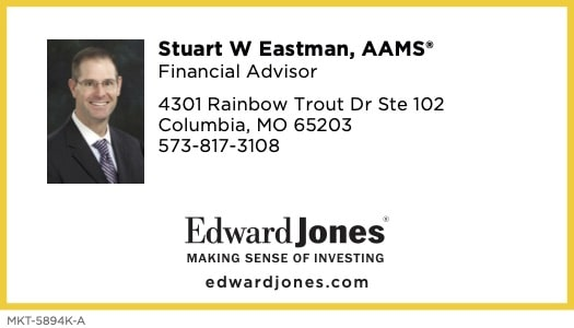Click the business card to learn more about Stuart Eastman and contact him for your financial needs