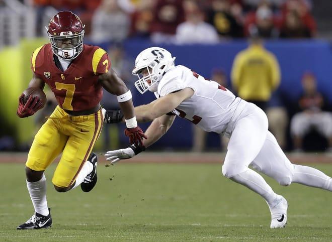 Carr scored 13 touchdowns at USC