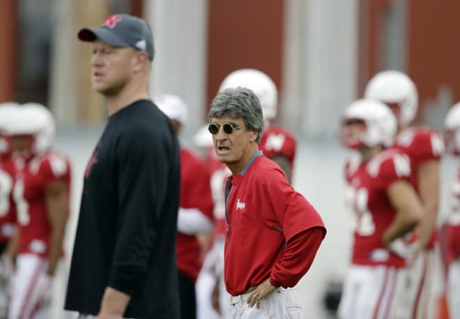 Nebraska will hold a live scrimmage with their team on Saturday.