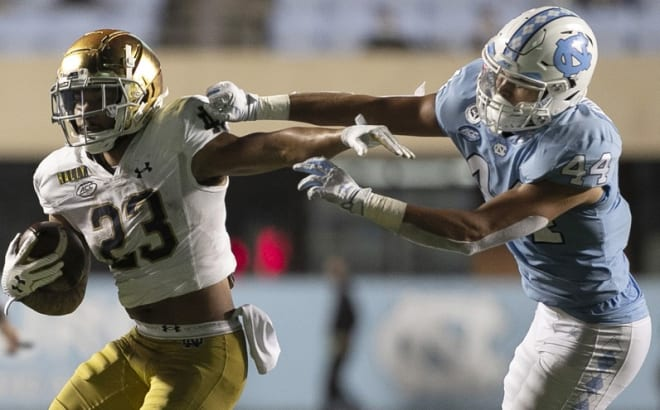 THI continues looking at UNC's 2021 football opponents, and today we feature Notre Dame.