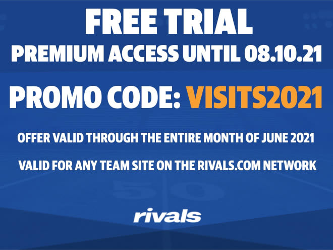 Valid for any team site on the Rivals.com network