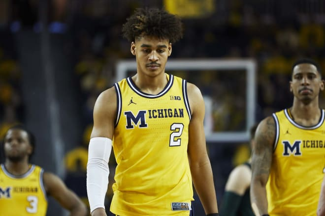 Michigan fell in the power rankings after losing to Michigan State.