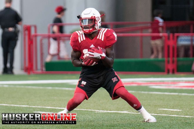Wide out J.D. Spielman is making the most of his increased first-team reps this fall.