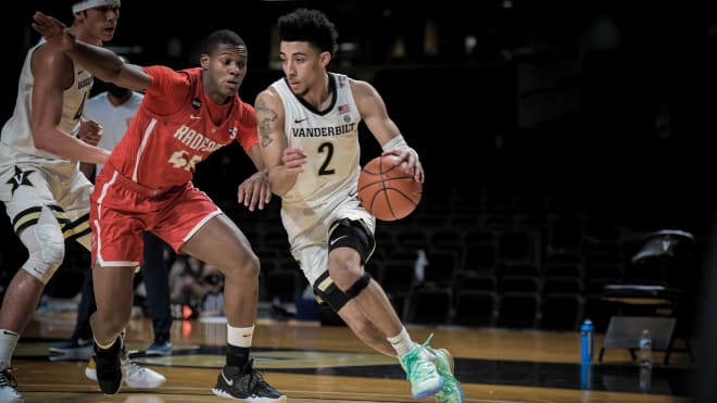 Scotty Pippen, Jr. scored 25 points to lead Vanderbilt to a win over Radford on Saturday.