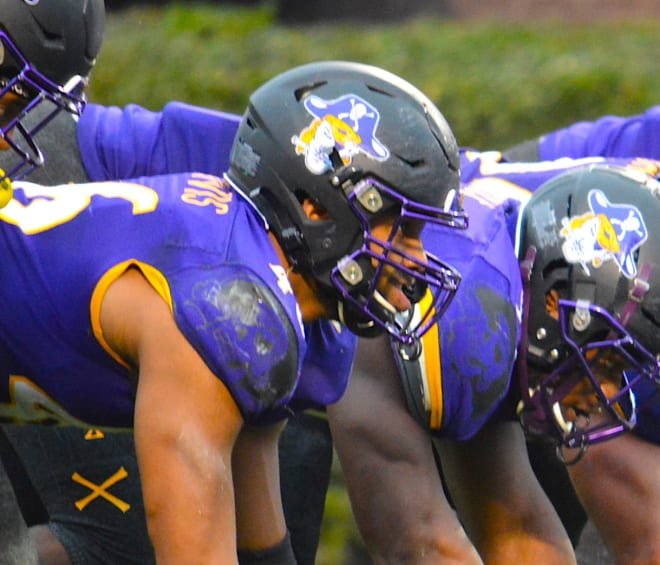 ECU defensive lineman Chance Purvis has been suspended indefinitely from the Pirate football team.