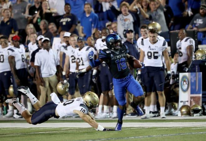 Memphis running back Kenneth Gainwell (Joe Murphy/Getty Images)