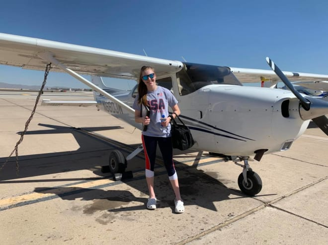 Estrella Foothills junior Emma Barber is one of the country's youngest licensed private pilots.