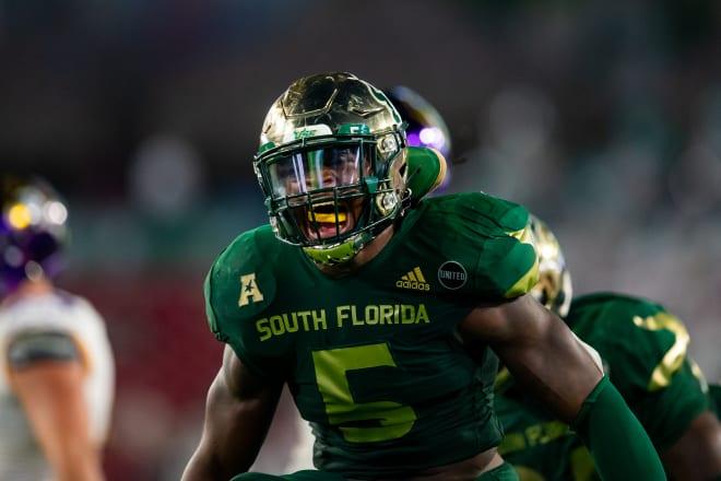 South Florida returns 2020 leading tackler senior linebacker Antonio Grier this fall.