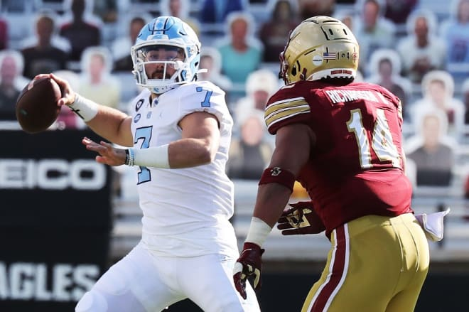 UNC QB Sam Howell and other college stars can now cash in their star status for compensation.