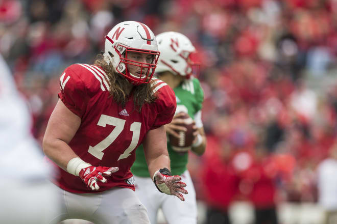 Matt Farniok became the second Husker offensive lineman to be taken in the 2021 NFL Draft on Saturday.
