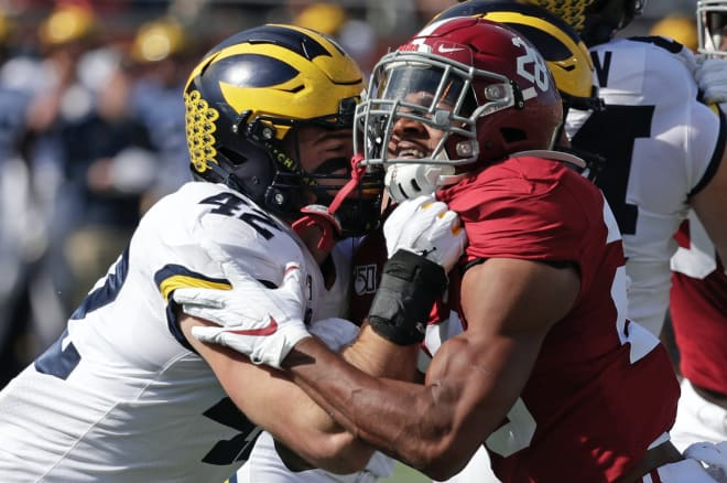 Michigan Wolverines football's Ben Mason