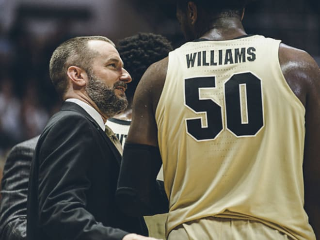 Elliott Bloom is in his 13th year as director of basketball operations for Matt Painter's staff.