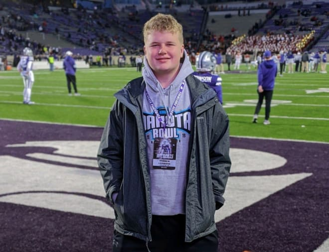 New Kansas State commit Andrew Leingang