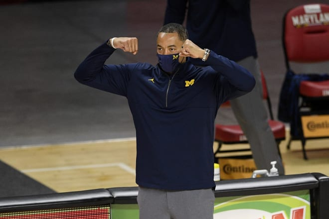 Michigan Wolverines basketball head coach Juwan Howard led his team to a Big Ten title in year two.