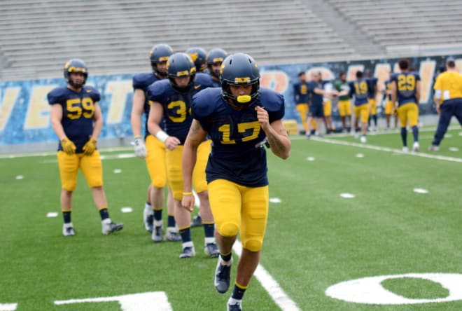 Loe has embraced his role on special teams for the West Virginia Mountaineers football team.