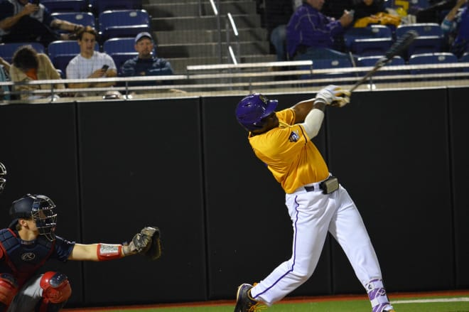 Two home runs from East Carolina's Dwanya Williams-Sutton highlighted the Pirates' Saturday win over Tulane.