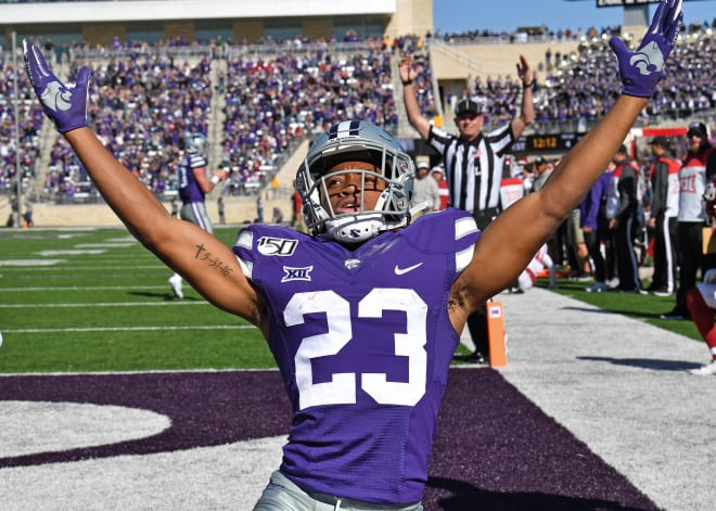 Kansas State wide receiver Joshua Youngblood