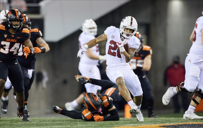 Running back Austin Jones rushed for 559 yards during Stanford's bounce-back 4-2 season last year.