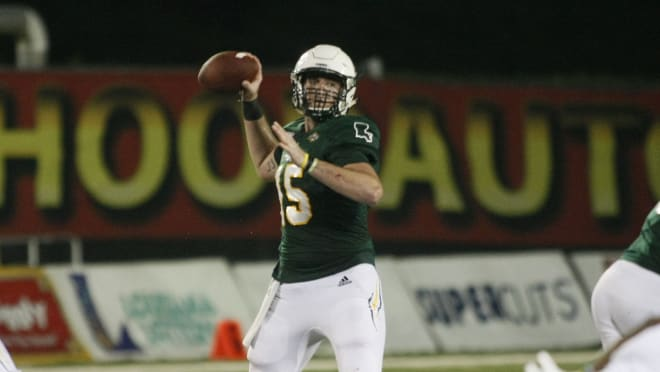 Cole Kelley was named the top offensive player in the FCS on Saturday.
