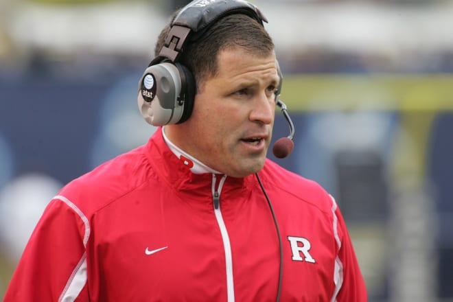 Rutgers football head coach Greg Schiano takes on the Michigan Wolverines this weekend
