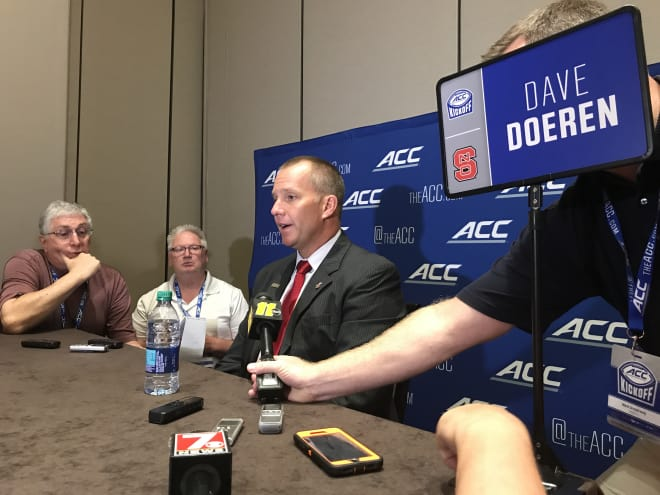 NC State Wolfpack football Dave Doeren